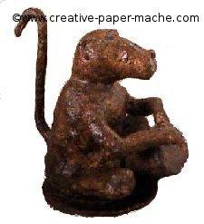 paper mache baboon
